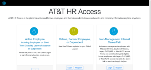 HROneStop AT&T Benefits Center Login