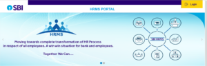 HRMS Portal Login and Registration Page