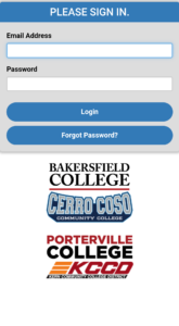 Inside Bc Login and Registration Page