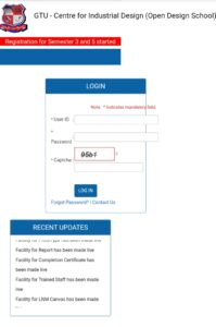 De Login and Registration Page