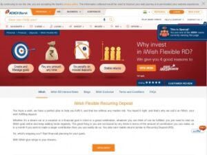 iwish Login and Registration Page