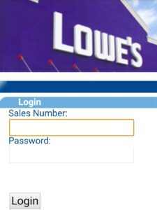 How to login MyLowesLife