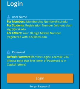 How to login eLearning