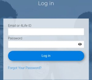How to login 4Life