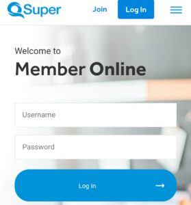How to login Qsuper