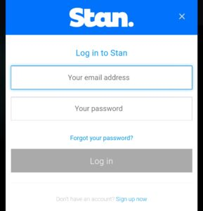 Stan Login – Registration 2021