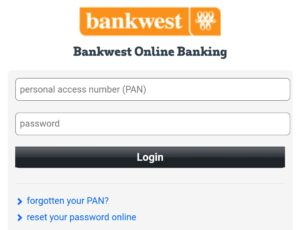 How to login Bankwest