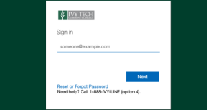 IvyLearn Login and Registration Page