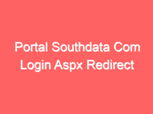 Portal Southdata Com Login and Registration Page