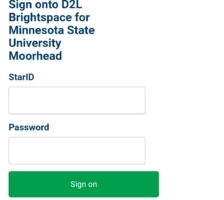 eServices D2L Login – MSUM