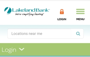 Lakeland Bank Login
