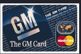 GM Card Login – One Credit Card Login