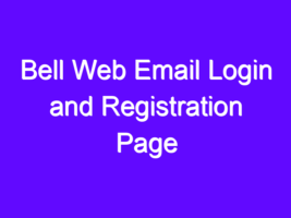 Bell Web Email Login