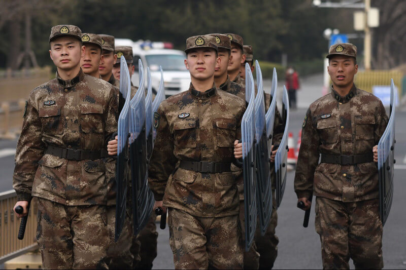 PLA army of china