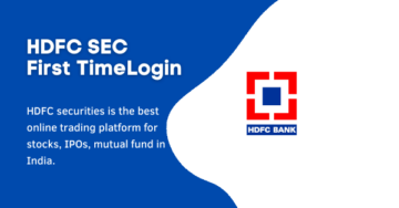 HDFC BC Login – HDFCSec First Time