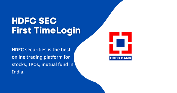 log into my HDFC Securities account
